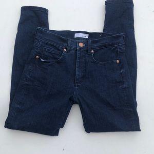 Loft modern high waist skinny jeans
